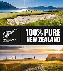 New Zealand In Three-Year Drive To Boost International Golf Visitors