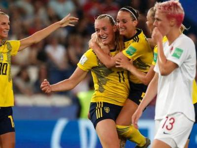 Sweden advance to quarterfinals, emerge as World Cup dark horse