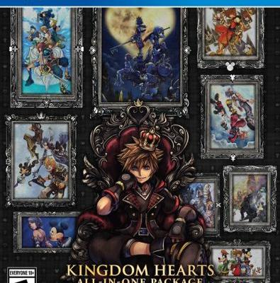 Kingdom Hearts All-in-One Package collection contains Kingdom Hearts 3, out in March
