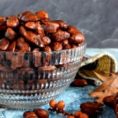 Pumpkin Spiced Almonds