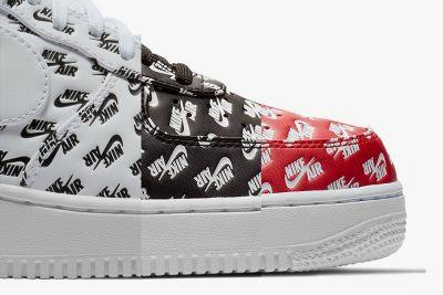 "Nike Dresses the Air Force 1 in a Classic ""All Over Print"""