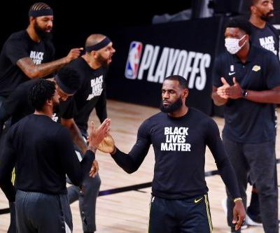 Los Angeles Lakers' LeBron James: 'Not one time have I said let's act violent toward cops'