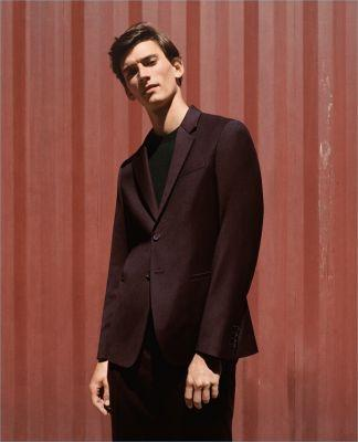 Thibaud Charon Dons Oversize Suiting for COS Fall '17 Campaign