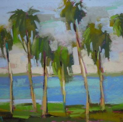 What Color is a Good Underpainting Color for Green?