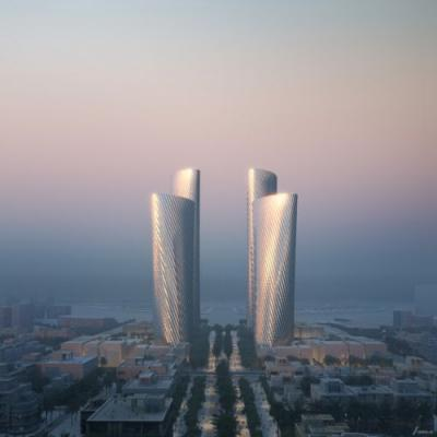 Foster + Partners Unveils Lusail Towers in Qatar, a Landmark Project for a New Central Business District in the City