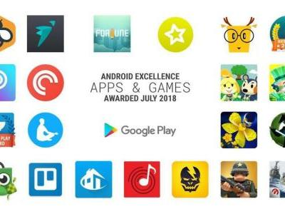 Google names top Android Excellence apps and games for Q3 2018