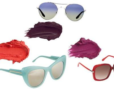 Perfect Pairs: Matte Lipsticks + Cool Sunnies