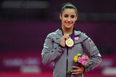 A three-time gold medal gymnast faced body shaming at the airport