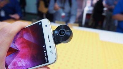 This 360-degree camera turn yours Moto Z phone into a video powerhouse