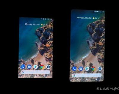 Pixel 2 XL screen problems VS iPhone 8 Plus, LG V30, Galaxy Note 8