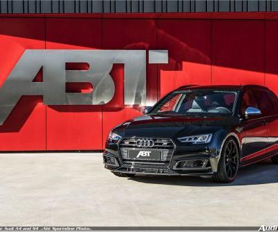 ABT upgrades for the 2018 Audi A4 and S4 Sedan