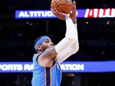 Carmelo Anthony devrait sortir du banc à Houston