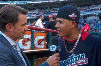 Manny Machado talks with Tom Verducci about rumors claiming he will be traded to the Dodgers