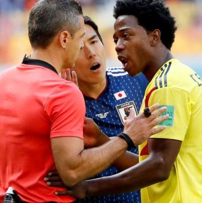 Colombia's Carlos Sanchez gets second-fastest red card in World Cup history