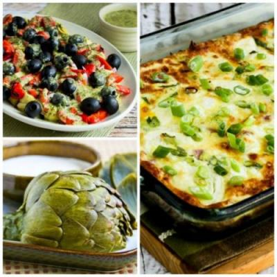 10 Amazing Low-Carb Recipes with Artichokes