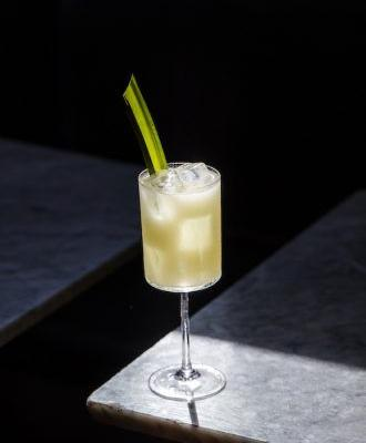 Elements: Pandan Cocktails