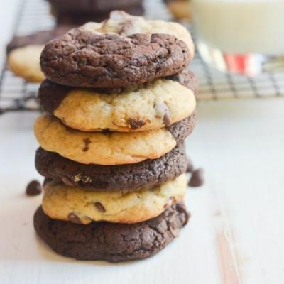 Chocolate Chip Brownie Cookies