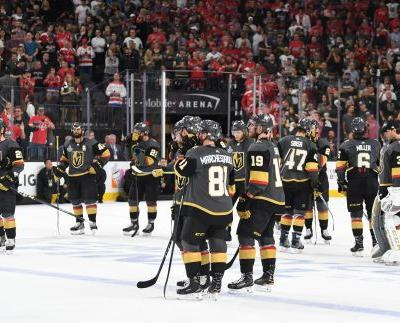 The expansion Golden Knights' season ended in defeat, but not failure