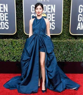 THE BEST DRESSED CELEBRITIES AT THE 2019 GOLDEN GLOBESGemma Chan
