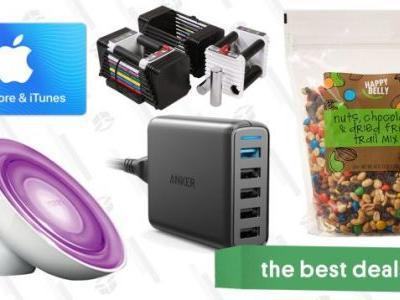 The Best New Year's Eve Deals: Trail Mix, Adjustable Weights, Philips Hue Lights, and More