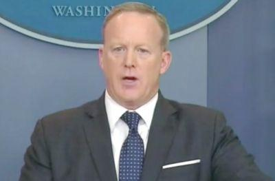 New York Times Editorial Bids Farewell to Spicer as 'Our Four-Pinocchio Press Secretary'