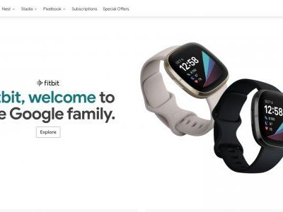 Google Store marks Fitbit acquisition closing with prominent banner message