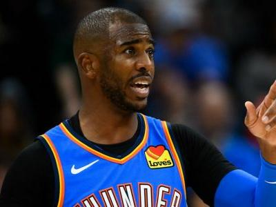 Chris Paul's knowledge of obscure jersey rule helps Thunder capture improbable win over Timberwolves