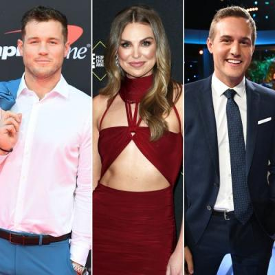 Colton Underwood Hints at Ex Hannah Brown's Possible Relationship With Bachelor Peter Weber