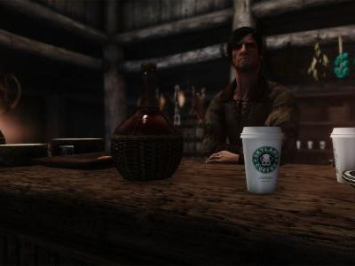 New Skyrim Mods Add Game of Thrones Coffee Cup
