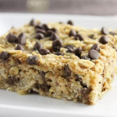 Chocolate Chip Breakfast Squares