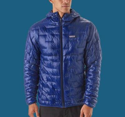 Patagonia's newest puffer jacket is so lightweight, you can put it in its own front pocket