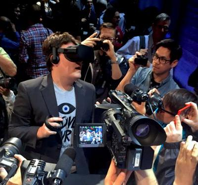 During his Senate hearing, Facebook CEO Mark Zuckerberg was asked about an infamous ex-employee: Palmer Luckey