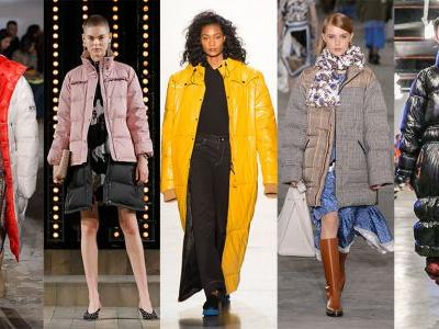 The Fall 2018 Runways Want You to Swap Your Cropped Puffer for a Long One