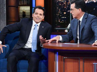 Anthony Scaramucci Dishes On His Drama With Reince Priebus & Steve Bannon On The Late Show