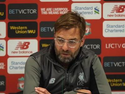 Klopp didn't know Man City defeat caused Anfield buzz