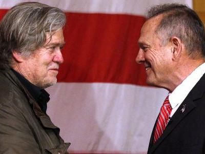 Republicans blame Steve Bannon for Roy Moore's shocking loss in Alabama