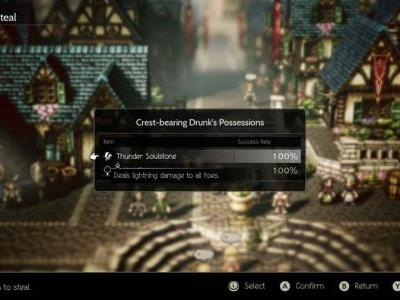 How To Increase Therion's Steal Chance In Octopath Traveler