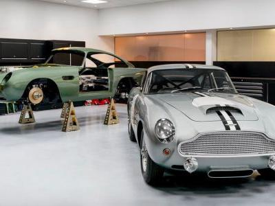 Aston Martin Returns To Historic Newport Pagnell Production Facility