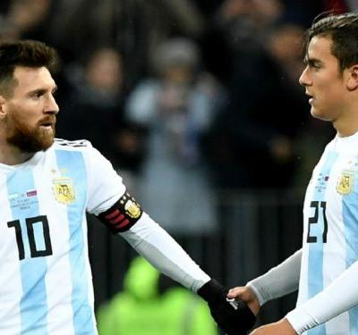 Argentina want Messi back in the national team, says Dybala
