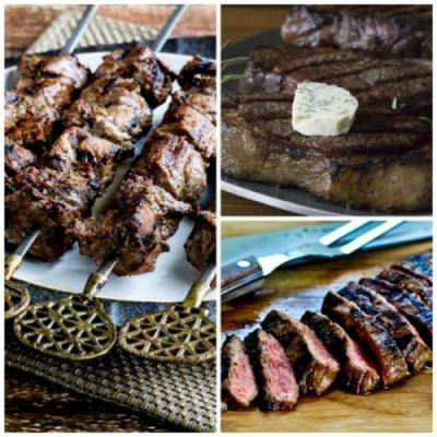 Amazing Recipes for Low-Carb and Keto Beef Steak on the Grill