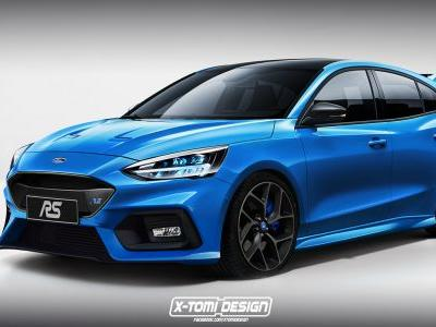 New Ford Focus Gets RS Rendering