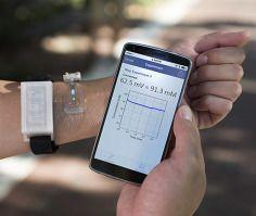 Sweat test for cystic fibrosis: Wearable sweat sensor vs. standard laboratory test