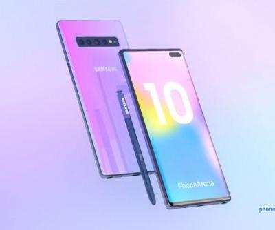 Samsung Galaxy Note 10 concept brought to life in stunning 3D renders