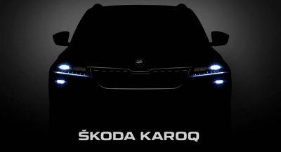 Watch The Live Unveiling Of The Skoda Karoq Here At 1PM EST