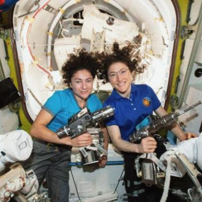 After All-Woman Spacewalk, NASA Says A Woman Could Be The First Person On Mars