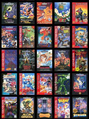 Which Sega Genesis Mini game are you playing first?