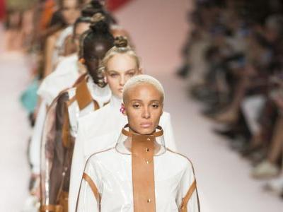 Fendi Leaned All the Way Into the 'Upscale Sport' Aesthetic for Spring 2019