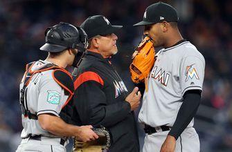 Marlins part ways with 4 coaches, including pitching coach Juan Nieves, first base coach Perry Hill