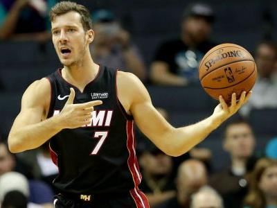 Heat guard Goran Dragic out 2 months after knee surgery, report says
