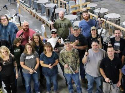 'The perfect gift': Company gives employees guns for Christmas